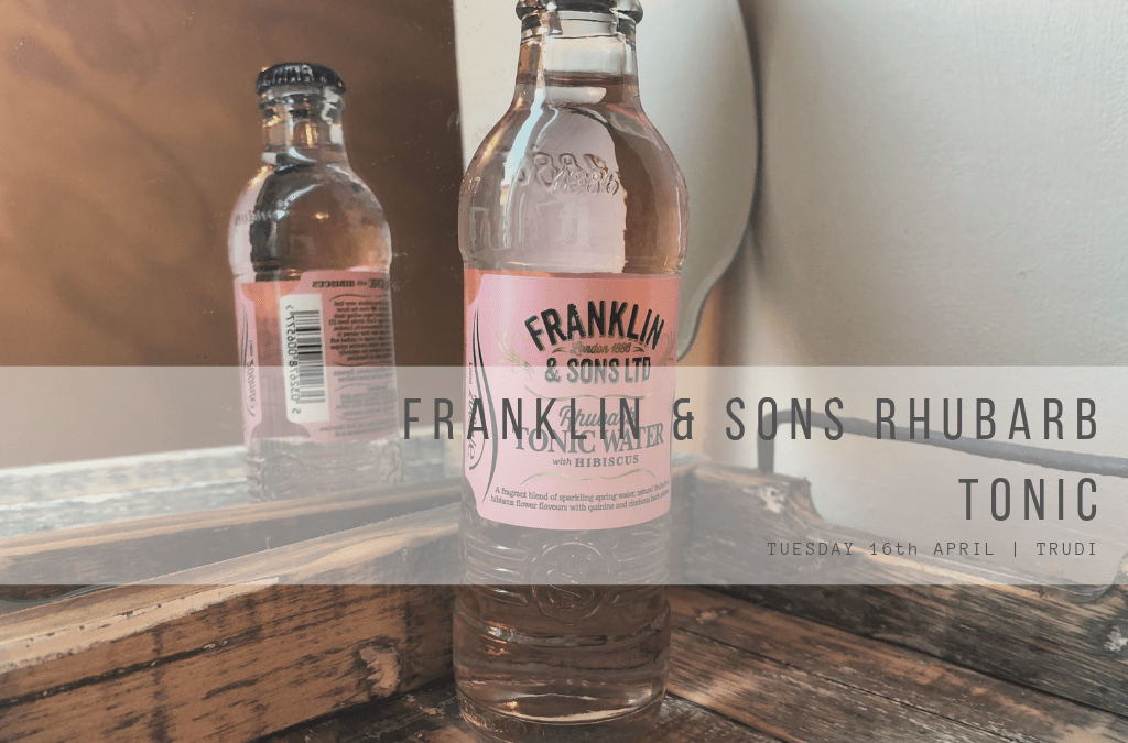 Franklin & Sons Rhubarb Tonic