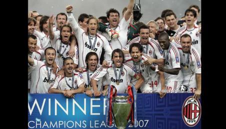 Milan campione d'Europa 2007