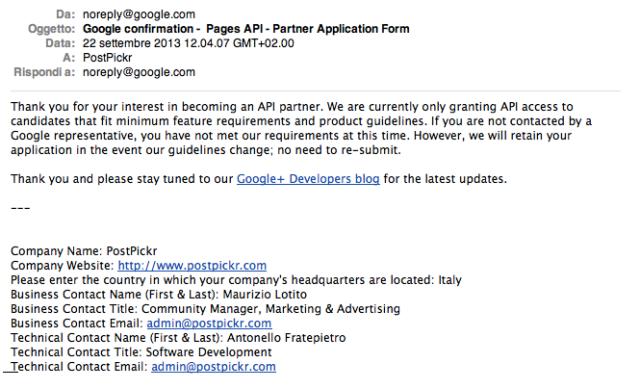 PostPickr Google Plus