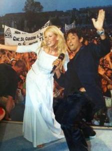 fiorello alessia marcuzzi festivalbar 1999