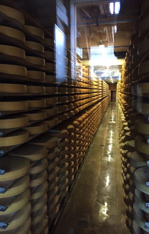 Fabbrica di formaggio Gruyères