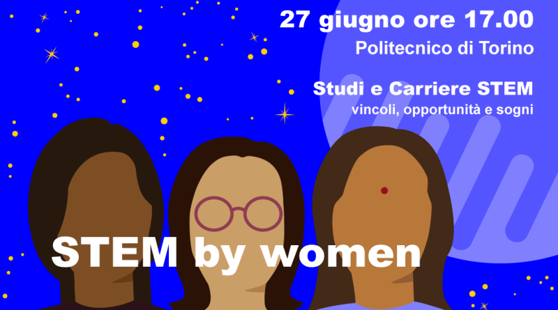 Locandina Stem by women