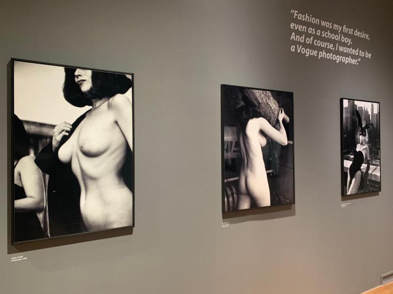 Works di Helmut Newton alla Gam di Torino