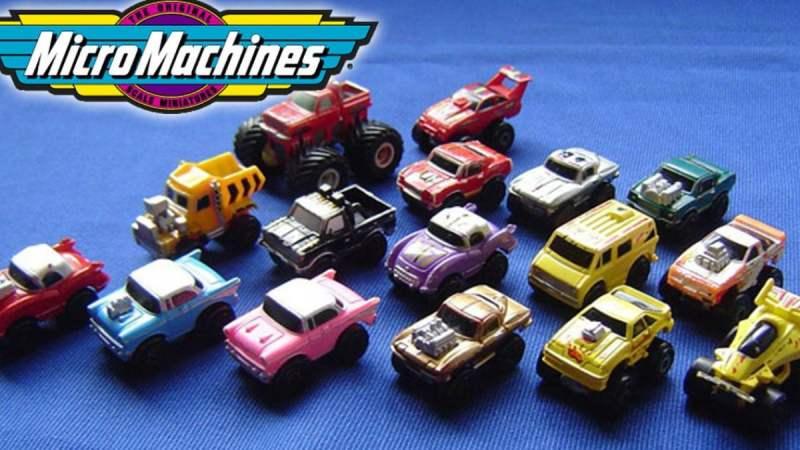 Micro Machines - giocattoli che hanno segnato gli anni 90
