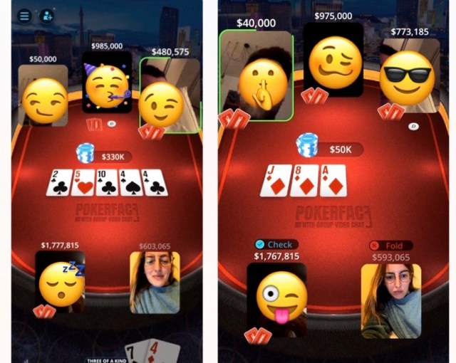 Poker Face: Live Texas Holdem - giochi multiplayer iphone