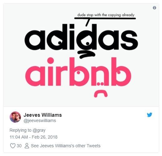 adidas e airbnb rebranding