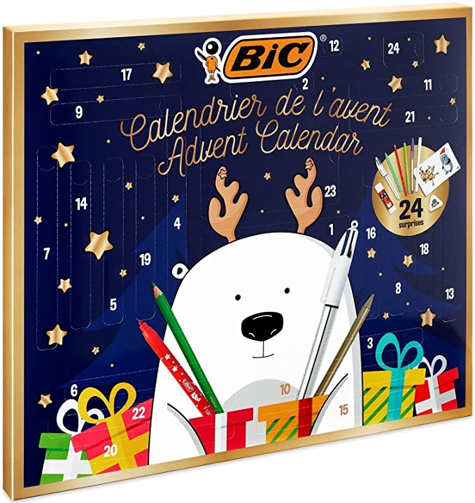 Calendario dell'avvento BIC 2020