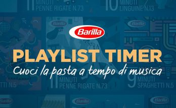 BARILLA Playlist Timer