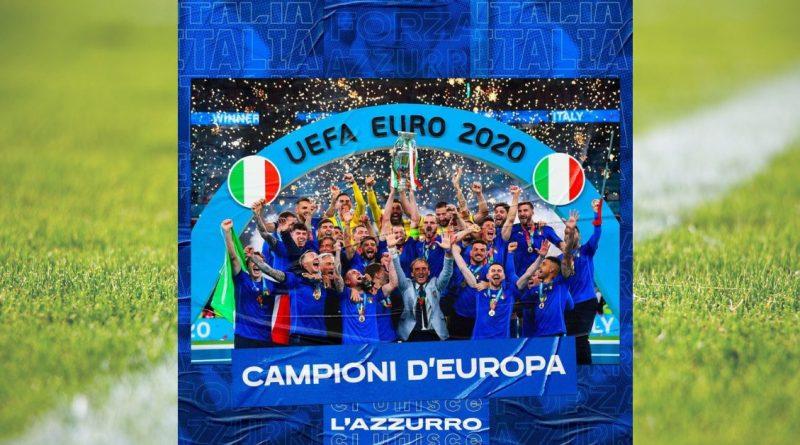Italia vince l'europeo dopo 53 anni