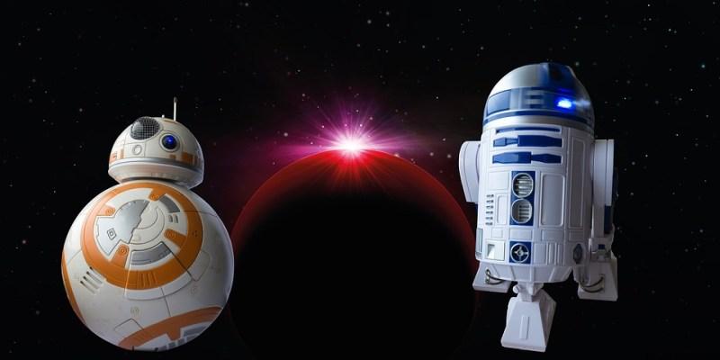 l'immagine mostra due droidi celebri della saga di Star Wars
