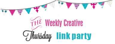 The Weekly Creative Link Party Banner
