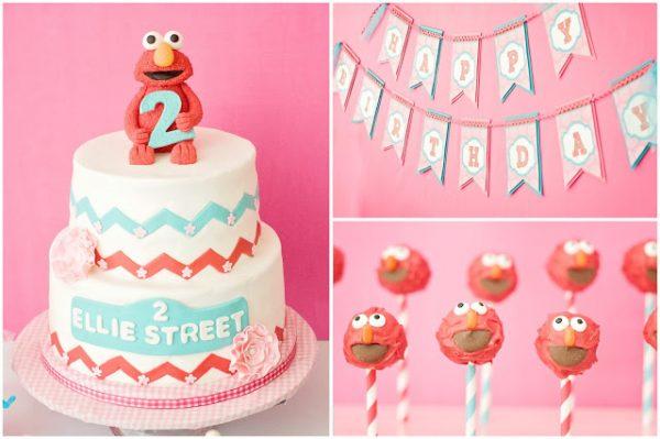 Elmo Birthday Party for Girls