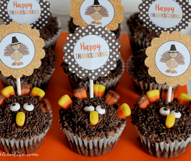 Turkey Cupcakes Content Feature