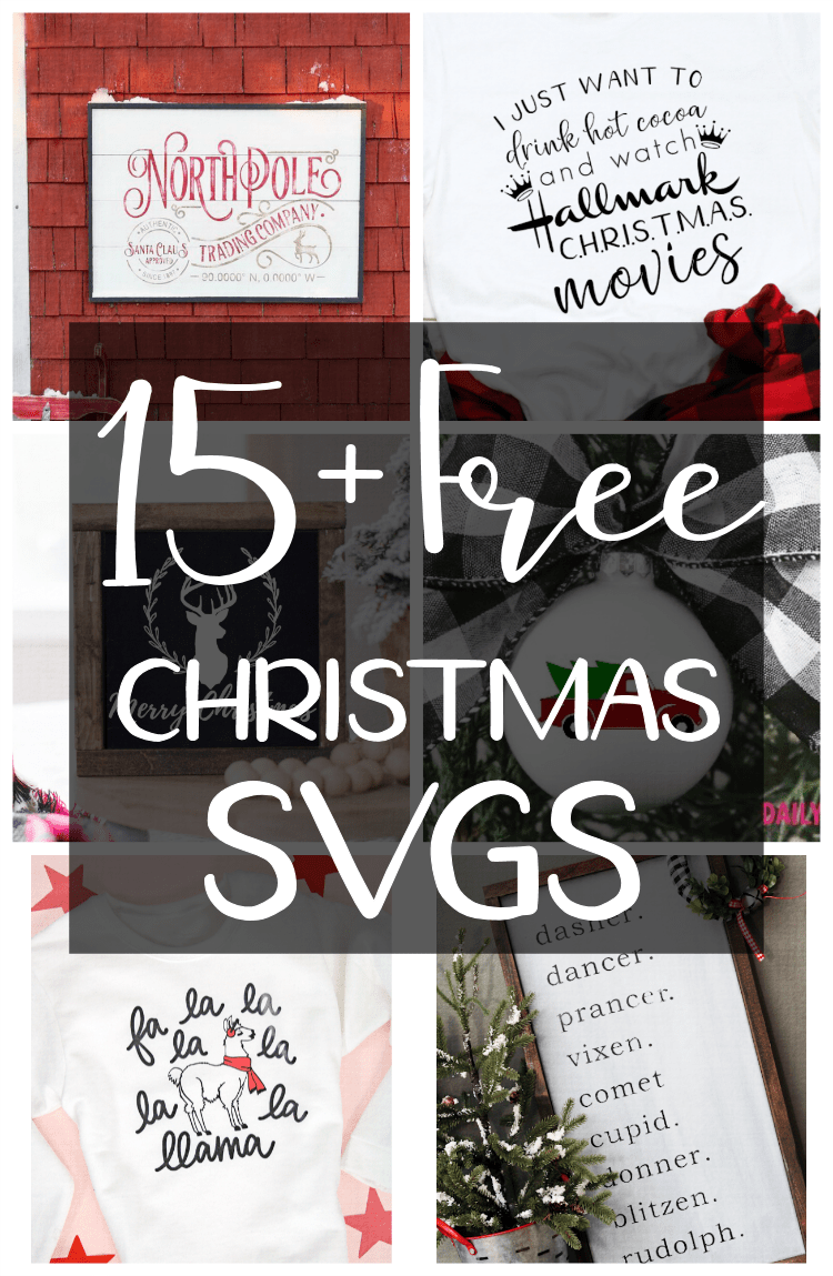 Each week you can pick a number of free svg designs from our website. Free Christmas Svg Cut Files The Girl Creative
