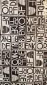 Escher designed Bijenkorf wrapping paper