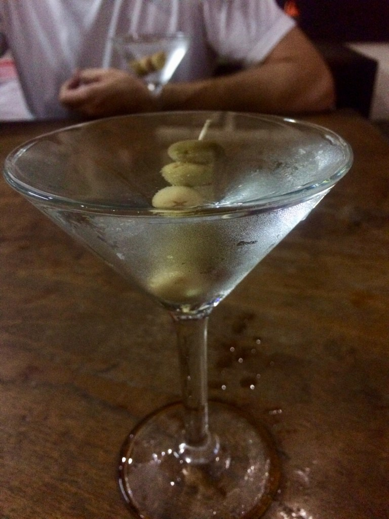 martinis from Naughty Nuri's, Ubud, Bali