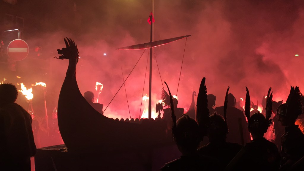 Despite what the guidebooks tell you, the native Shetland pony ... Up Helly Aa is the Shetland Islands famous fire festival. It's origins may be influenced by the Vikings but ...