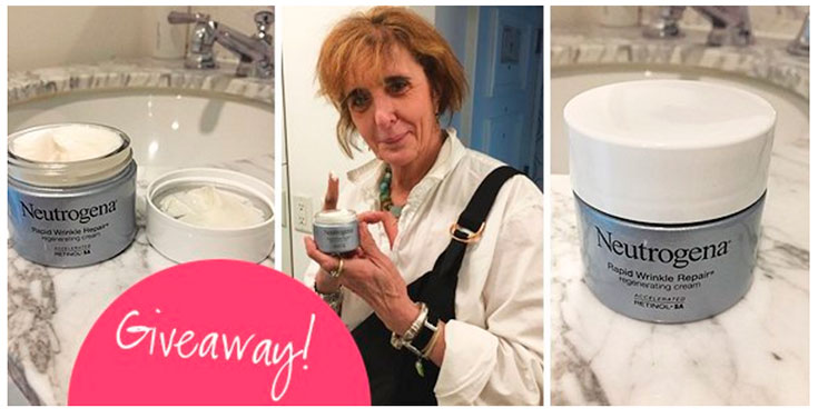 Neutrogena Rapid Wrinkle Repair Regenerating Cream Giveaway