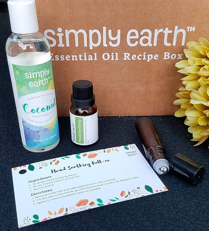 Simply Earth Essential Oil Recipe Box Giveaway