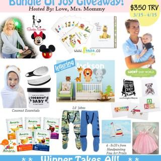 Bundle Of Joy $350 Baby Gift Pack Giveaway