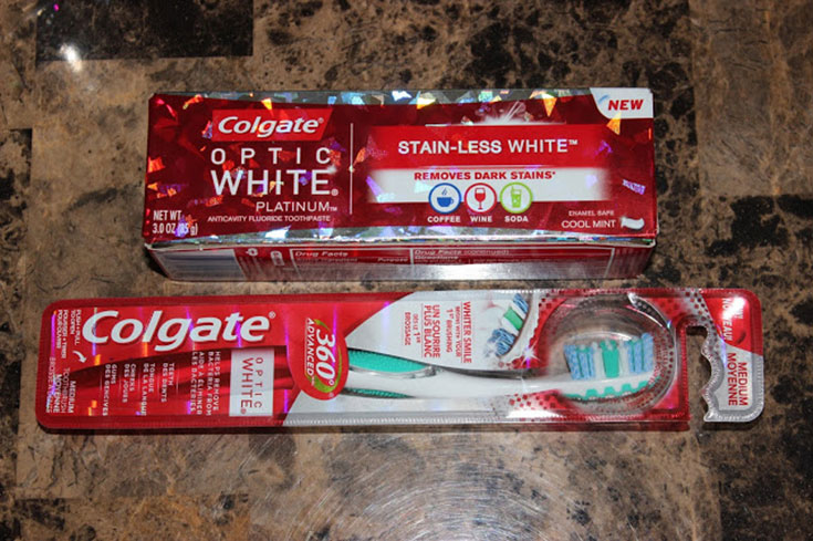 Colgate Optic White Prize Pack Giveaway