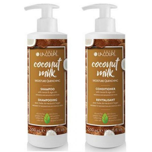 LaCoupe Coconut Milk Shampoo & Conditioner Giveaway