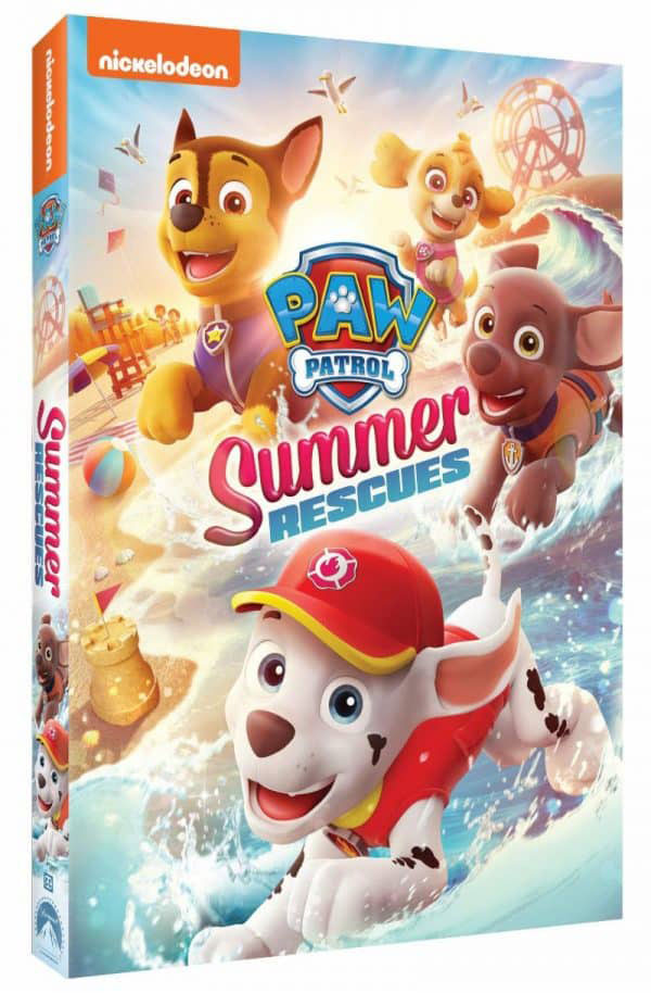 Paw Patrol: Summer Rescue DVD Giveaway