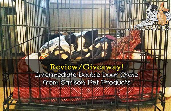 Carlson Pet Double Door Crate Giveaway