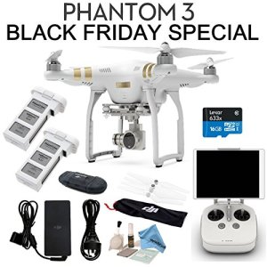 DJI-Phantom-3-Professional-Bundle-w-eDigitalUSA-Includes-SPARE-BATTERY-Card-Reader-Cleaning-Kit-Brush-Blower-eDigitalUSA-Microfiber-Cleaning-Cloth-0