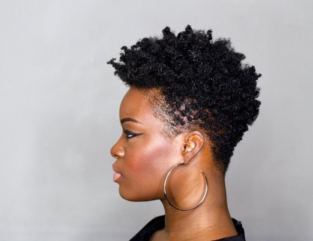 diy tapered cut tutorial on 4c natural hair (step-by-step)