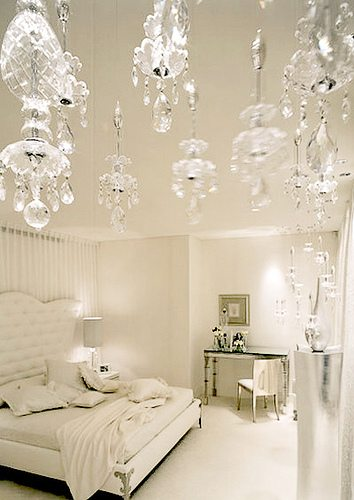 i have been collecting pieces over the last year for our master bedroom and here are some of the glamorous white bedrooms that inspire me - White Bedroom