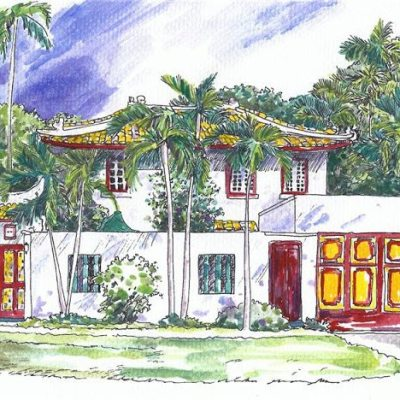 Chinoiserie Chic in Coral Gables, Florida: Part 1
