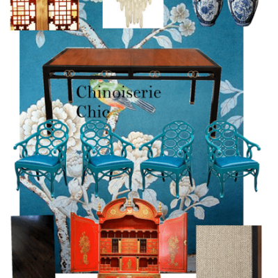 Chinoiserie Chic in Florida: The Dining Room