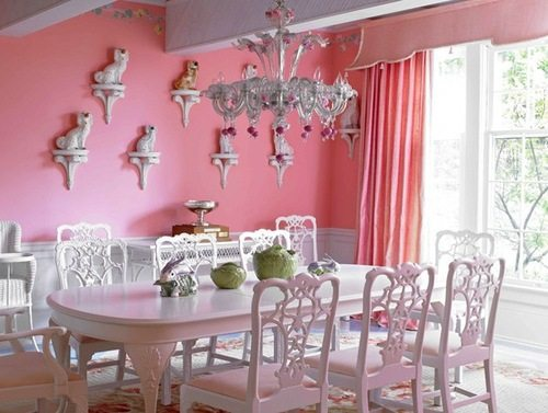 14 Romantic Pink Dining Rooms - The Glam Pad