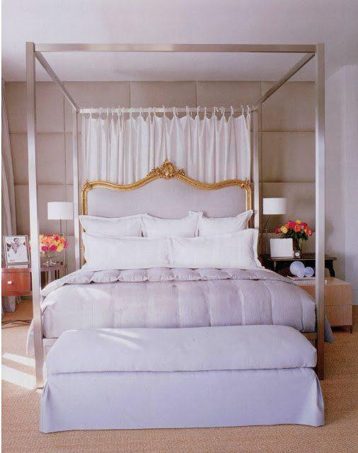 40 fabulous purple bedrooms for Elle decor beds