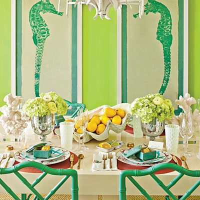 Southern Living Goes Palm Beach Chic