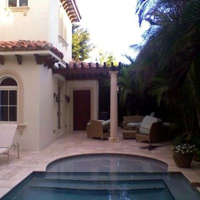 Palm Beach Chic Patio Transformation