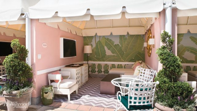 The Beverly Hills Hotel Pink Amp Green Poolside Renovations