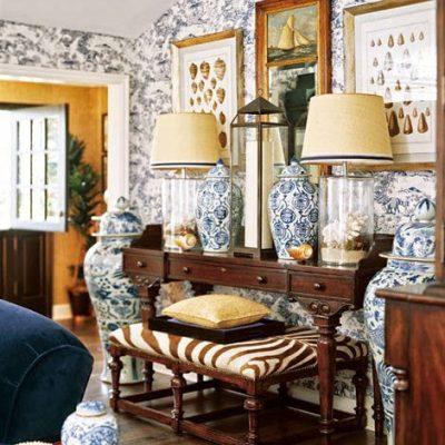 Barclay Butera's Blue & White Beach House