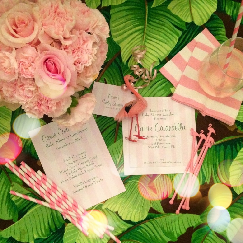 Palm Beach Chic In Miami: A Palm Beach Chic Baby Shower, By Luxe Report Designs
