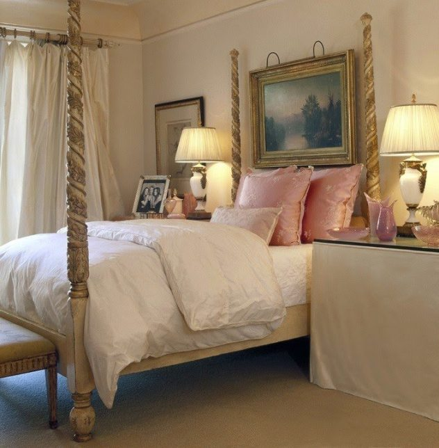feminine adult bedroom pink 35 Feminine Pink Bedrooms - The Glam Pad