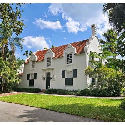 Dutch South African Village Home for Sale in Coral Gables