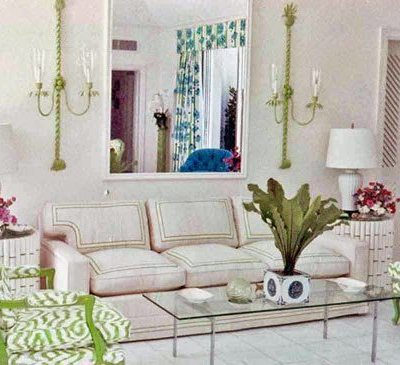 Palm Beach Chic Decor, Circa 1964