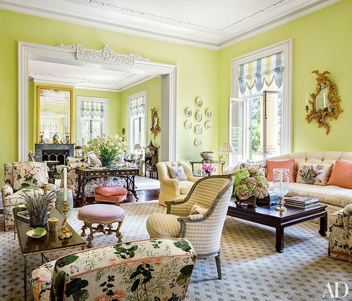 Reclaimed Wood Flooring Long Island Ny: Mario Buatta And Patricia Altschul Exude Southern Charm In