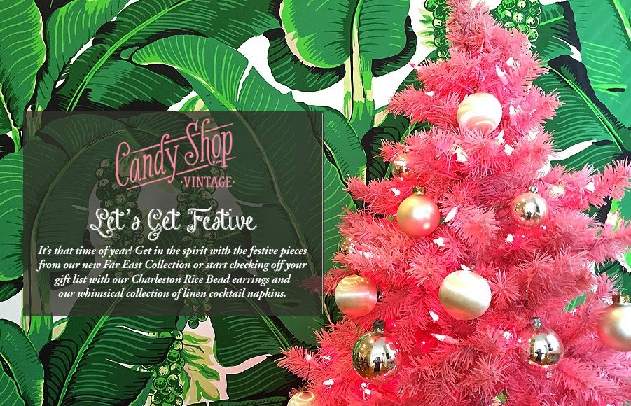 A Candy Shop Vintage Christmas The Glam Pad