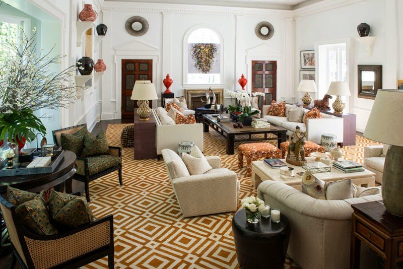 Amazing It features palatial foot ceilings along with original plaster moldings friezes and columns They created a white canvas of surfaces to serve as a