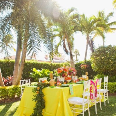 Lilly Pulitzer Wedding Ideas