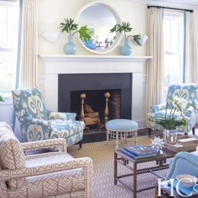 Meg Braff Decorates a Summer Home in Southampton