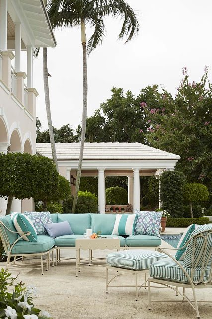 The Collection Arose From Need, As Celerie Found Herself Looking For  Flirtatious, Whimsical, And Feminine Outdoor Furniture. And The Result Is  Perfection!