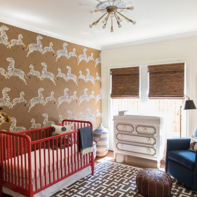 A Sophisticated Jungle Safari Nursery